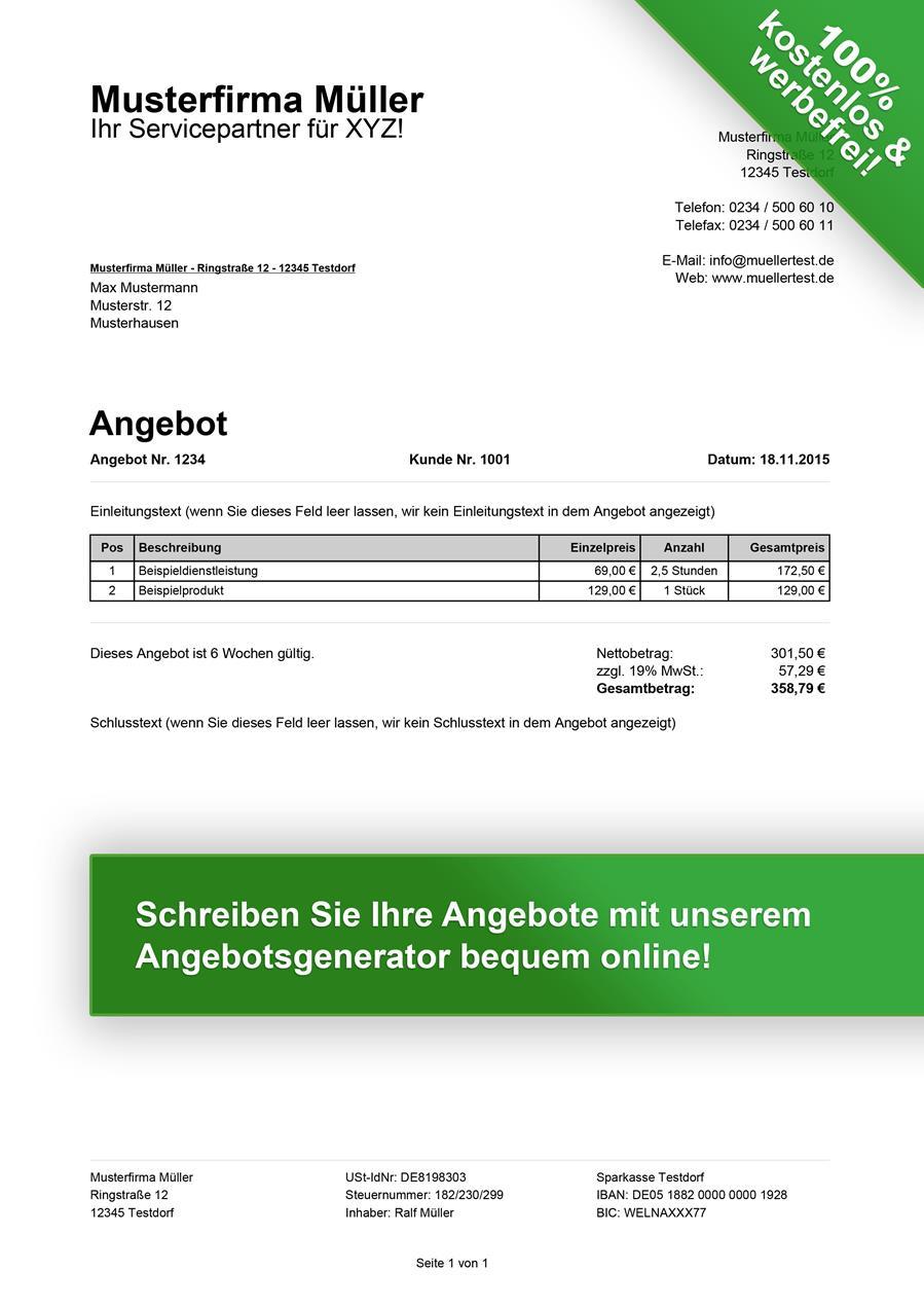 Gartenmobel Aluminium Teakholz : Special Angebotsvorlage im PDFGenerator